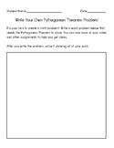 Pythagorean Theorem Extension Activity