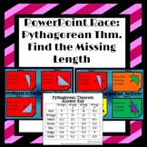 Pythagorean Theorem (Find the Missing Length): Interactive
