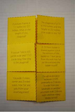 Pythagorean Theorem Word Problems Foldable