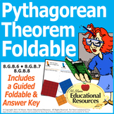 Pythagorean Theorem Foldable for Interactive Notebooks and MORE!