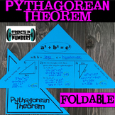 Pythagorean Theorem Foldable Notes Interactive Notebook
