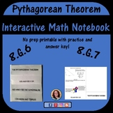 Pythagorean Theorem Foldable for Interactive Notebook