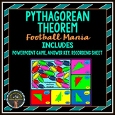Pythagorean Theorem: Football Mania PowerPoint Game
