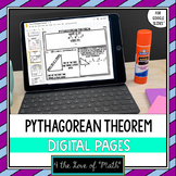 Pythagorean Theorem For Google Drive™ Distance Learning