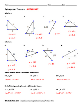 Pythagoras Basic Continued KS3 by TeachByNumbers - Teaching ...