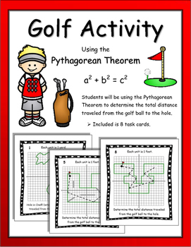 Pythagorean Theorem Golf Activity