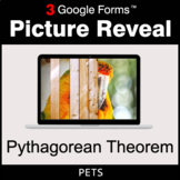 Pythagorean Theorem - Google Forms Math Game | Distance Learning