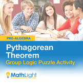 Pythagorean Theorem Group Activity- Logic Puzzle | Good fo