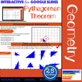 Pythagorean Theorem Guided Interactive Slides for Google C