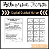 Pythagorean Theorem Guided Notes - Digital