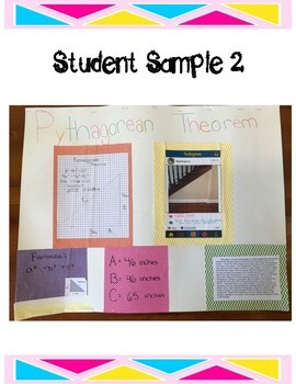 Pythagorean Theorem Instagram Project
