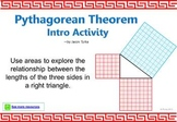 Pythagorean Theorem Intro Activity