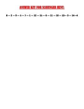 Pythagorean Theorem & Its Converse - Scavenger Hunt