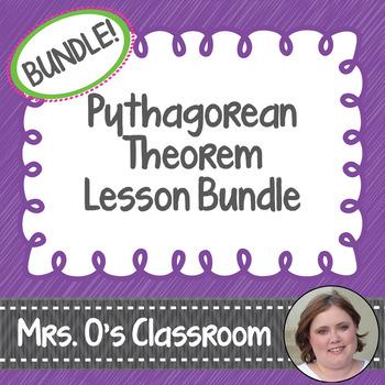 Pythagorean Theorem Lesson Bundle