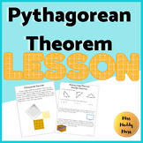 Pythagorean Theorem Lesson (Proof and Practice)