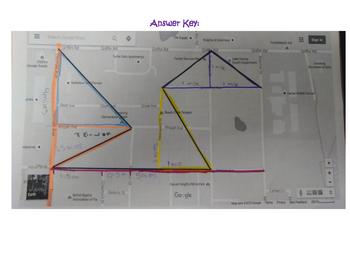 Pythagorean Theorem Maps Assignment