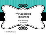Pythagorean Theorem Match It!