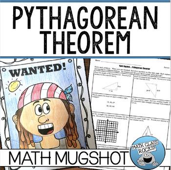 "PYTHAGOREAN THEOREM - ""MATH MUGSHOT"""