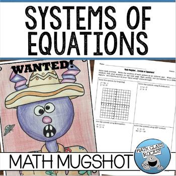 Systems of Equations Math Mugshot!