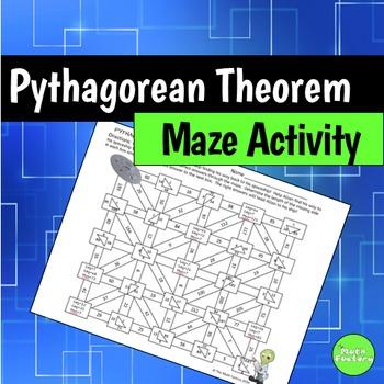Pythagorean Theorem Maze Activity