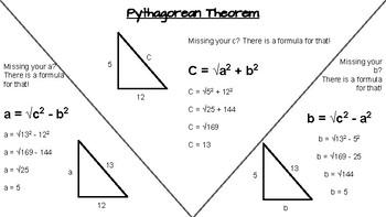 Pythagorean Theorem Notes