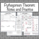 Pythagorean Theorem Notes and Practice Problems