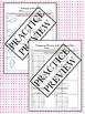 Pythagorean Theorem Notes & Practice