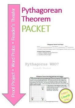Pythagorean Theorem Packet - Meet all your needs in one place!