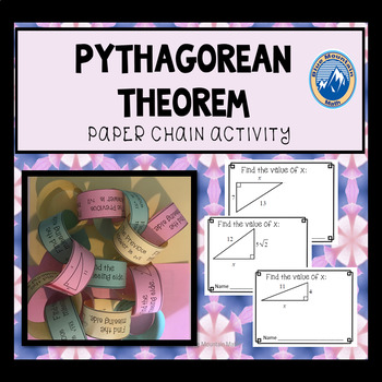 Pythagorean Theorem Paper Chain Activity