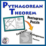 Pythagorean Theorem Pentagram Puzzle - Easy Swan