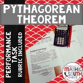 Pythagorean Theorem Performance Task - 8th Grade Math