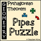 Pythagorean Theorem - Pipes Puzzle Activity