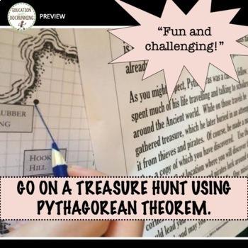 Pythagorean Theorem Pirate Treasure Hunt Project