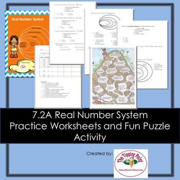 7.2A Describing relationships between sets of rational numbers
