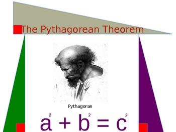 Pythagorean Theorem Power Point Presentation