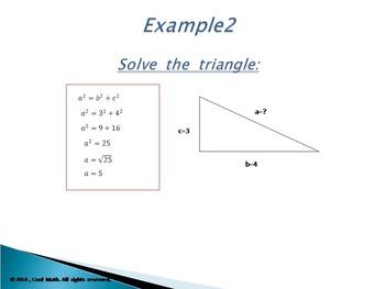 Pythagorean Theorem-PowerPoint