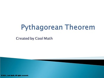 Pythagorean Theorem-PowerPoint