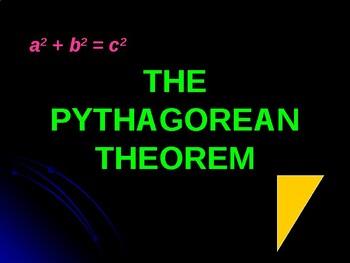 Pythagorean Theorem PowerPoint Lesson