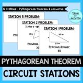 Pythagorean Theorem Practice - Circuit Stations