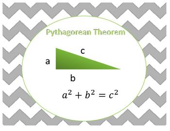 Pythagorean Theorem Printables