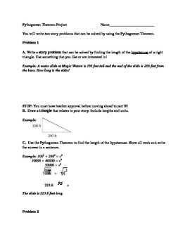 Pythagorean Theorem Project 2