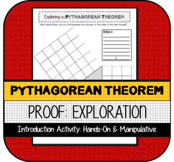 Pythagorean Theorem Proof Introduction: Hands-On Exploration