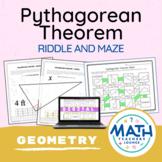 Pythagorean Theorem Puzzle Worksheet