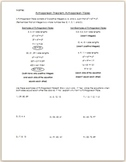Pythagorean Theorem: Pythagorean Triples