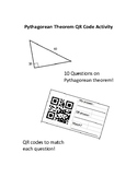 Pythagorean Theorem QR Code Activity