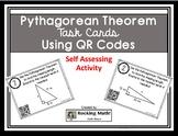 Pythagorean Theorem QR Code Task Cards