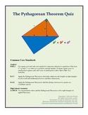 Pythagorean Theorem Quiz