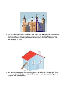 Pythagorean Theorem Real World Problems