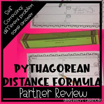 Pythagorean Theorem Review Stations