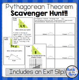 Pythagorean Theorem - Scavenger Hunt